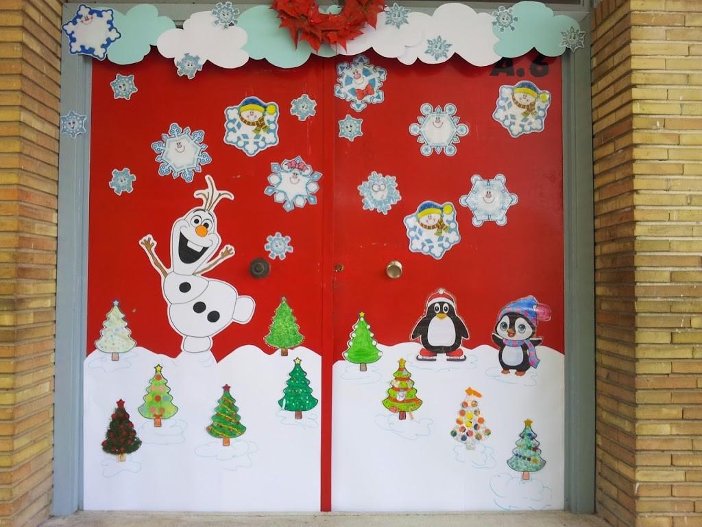 Navidad 2014 se o lola blog de aula for Mural navideno