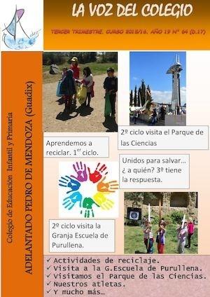 Revista Escolar Tercer Trimestre Ceip Adelantado Pedro