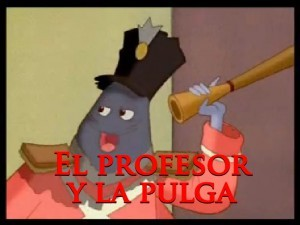 El profesor y la pulga