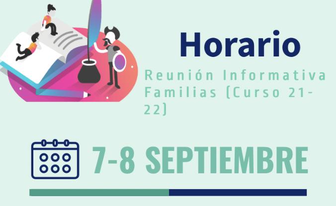 Reuniones Informativas inicio Curso 21-22