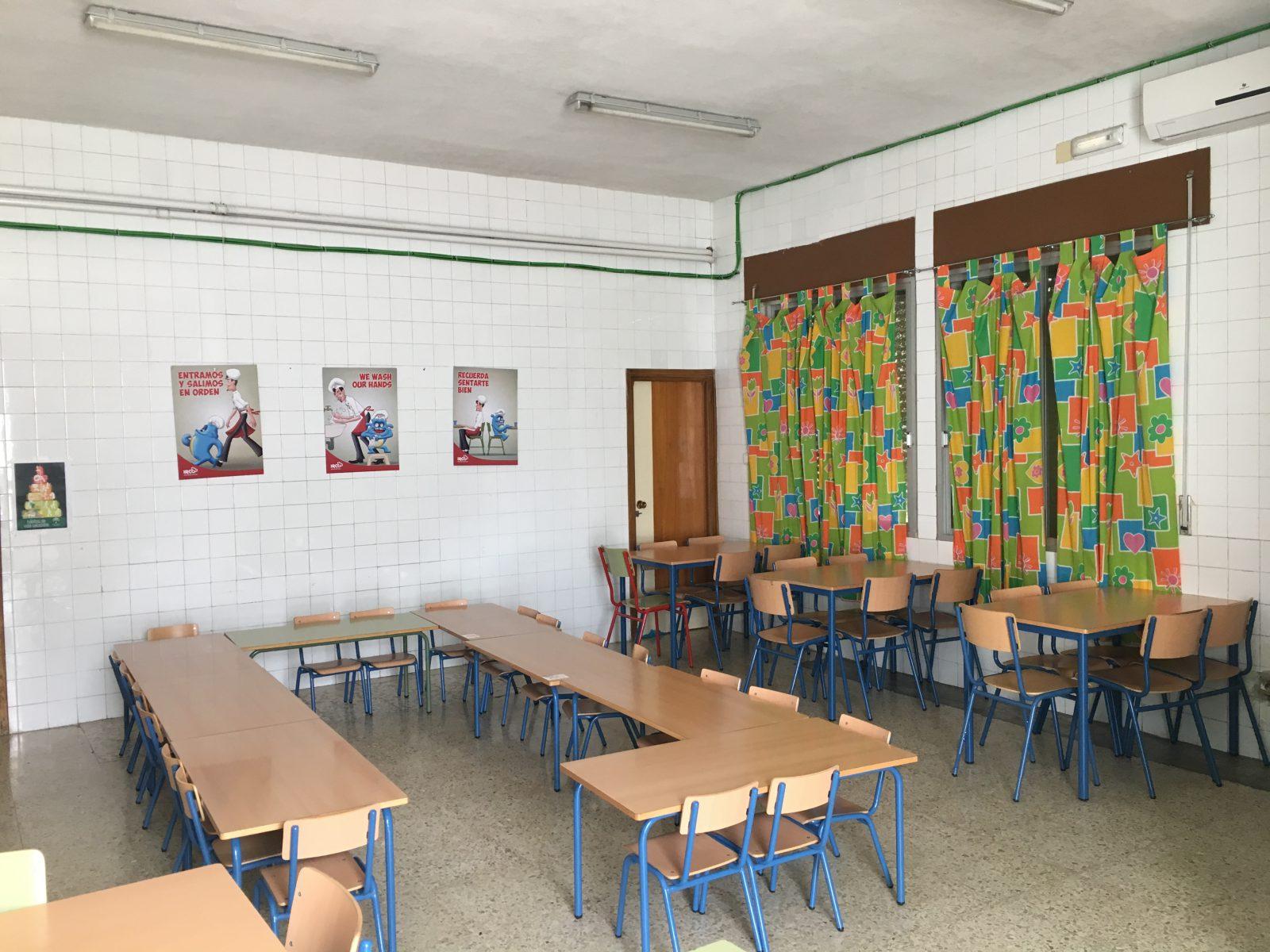 Comedor Escolar Ceip El Olivo Torredonjimeno Ceip El Olivo