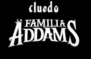 Cluedo Familia Addams. Halloween 2019
