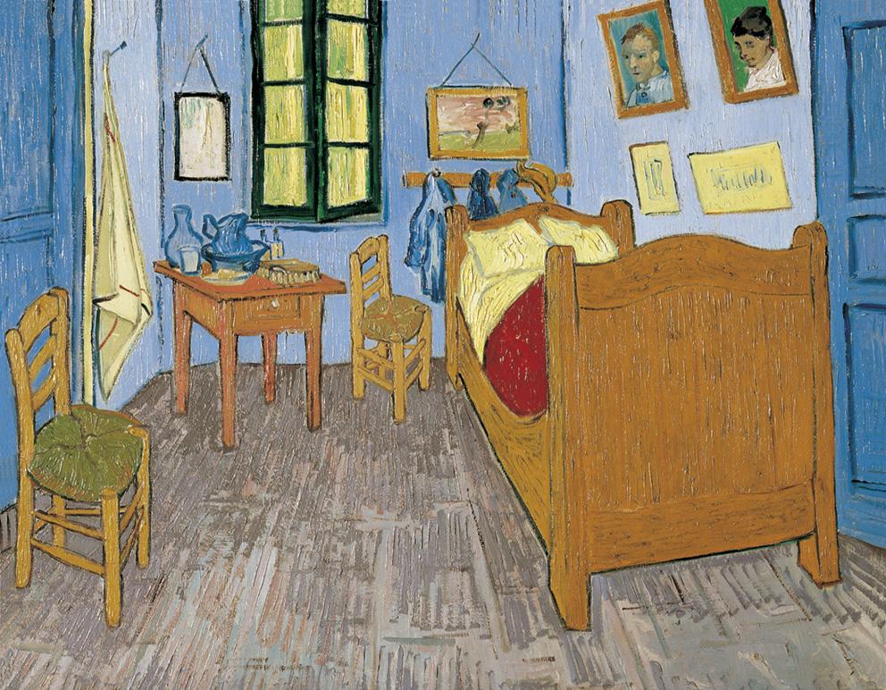 La habitación de Van Gogh