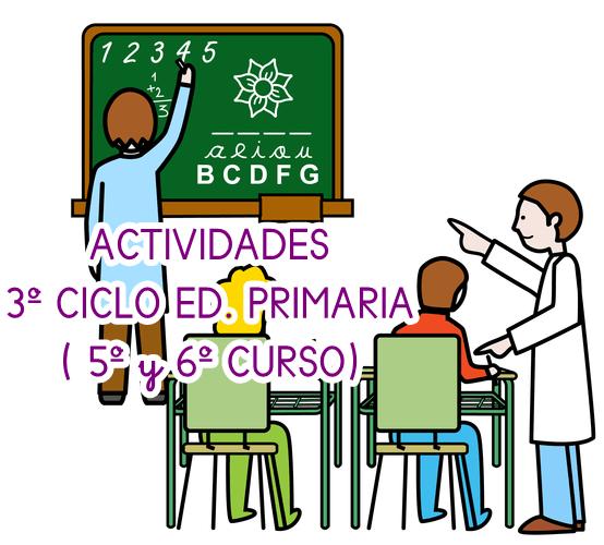 ACTIVIDADES PARA EL TERCER CICLO EDUCACIÓN PRIMARIA (5º y 6ª ED. PRIMARIA)