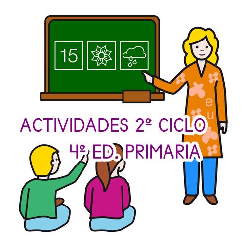 ACTIVIDADES 4º EDUCACIÓN PRIMARIA