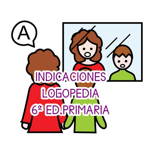INDICACIONES DE LOGOPEDIA