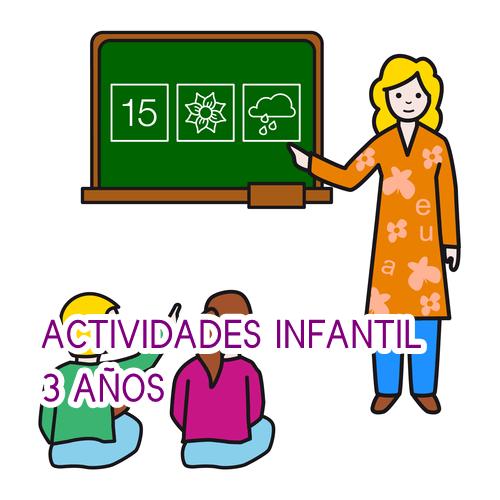 Actividades infantil 3 años