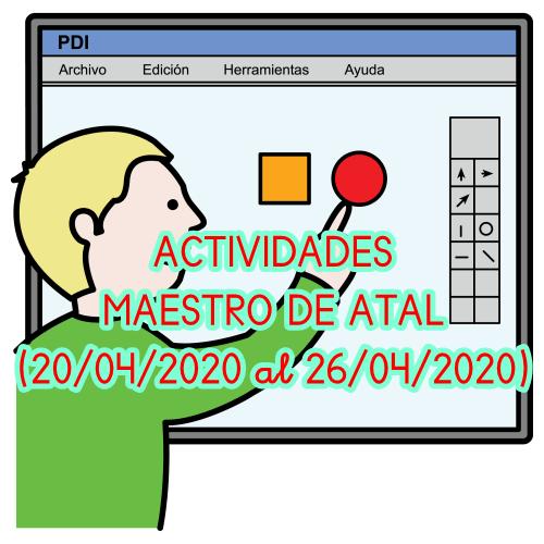 ACTIVIDADES ATAL (20/04/2020 al 26/04/2020)