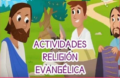 ACTIVIDADES RELIGIÓN EVANGÉLICA