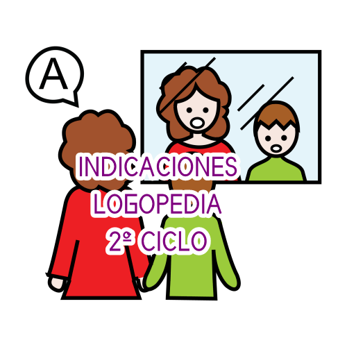 INDICACIONES LOGOPEDIA 2º CICLO
