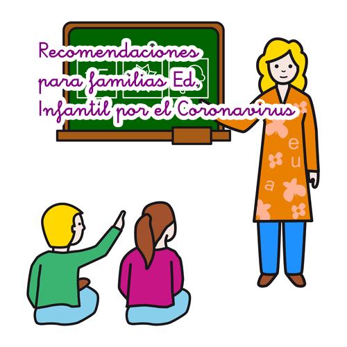 Orientaciones Familias de Educación Infantil