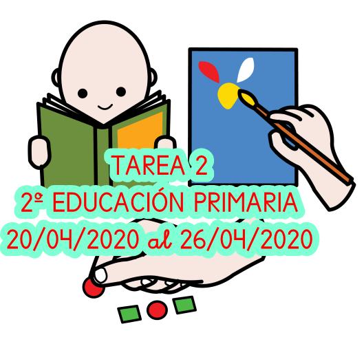 TAREA 2 2º EDUCACIÓN PRIMARIA (20/04/2020 al 26/04/2020 )