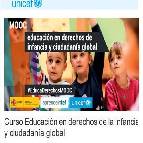 CURSO EDUCACIÓN EN DERECHOS DE LA INFANCIA Y CIUDADANÍA GLOBAL