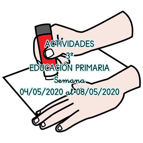 ACTIVIDADES 3º EDUCACIÓN PRIMARIA (04/05/2020 al 08/05/2020)