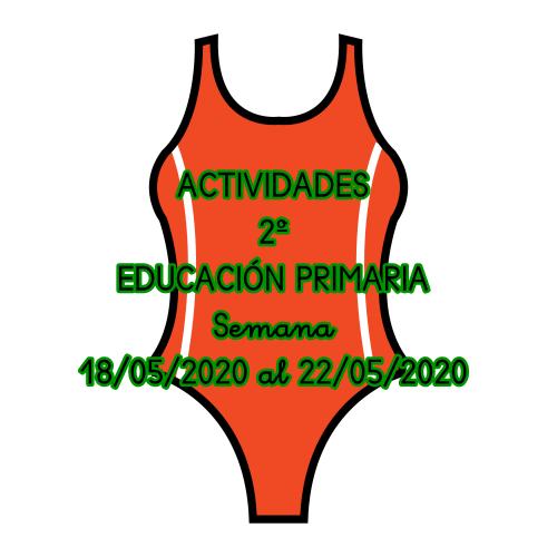 ACTIVIDADES AUDICIÓN Y LENGUAJE 2º EDUCACIÓN PRIMARIA (18/05/2020 al 22/05/2020)