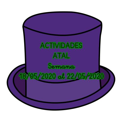 ACTIVIDADES ATAL (18/05/2020 al 22/05/2020)