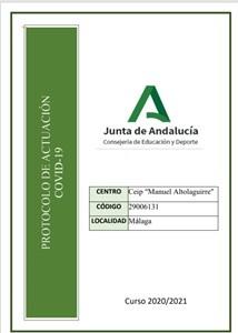 PROTOCOLO COVID CEIP MANUEL ALTOLAGUIRRE (MÁLAGA)
