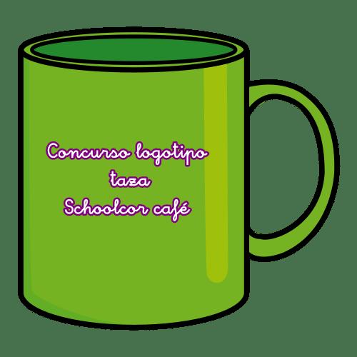 Concurso logotipo taza Schoolcor café