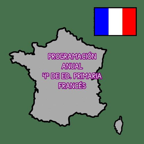PROGRAMACIÓN ANUAL DE 4º DE ED. PRIMARIA. FRANCÉS