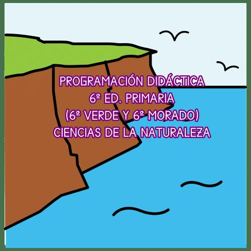 PROGRAMACIÓN DIDÁCTICA CIENCIAS DE LA NATURALEZA 6º ED. PRIMARIA