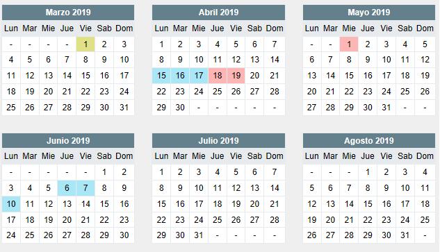 Calendario Escolar Huelva.Calendario Escolar Ceip Practicas Huelva