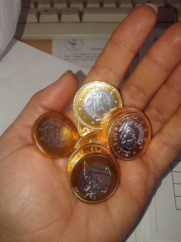 monedas choco