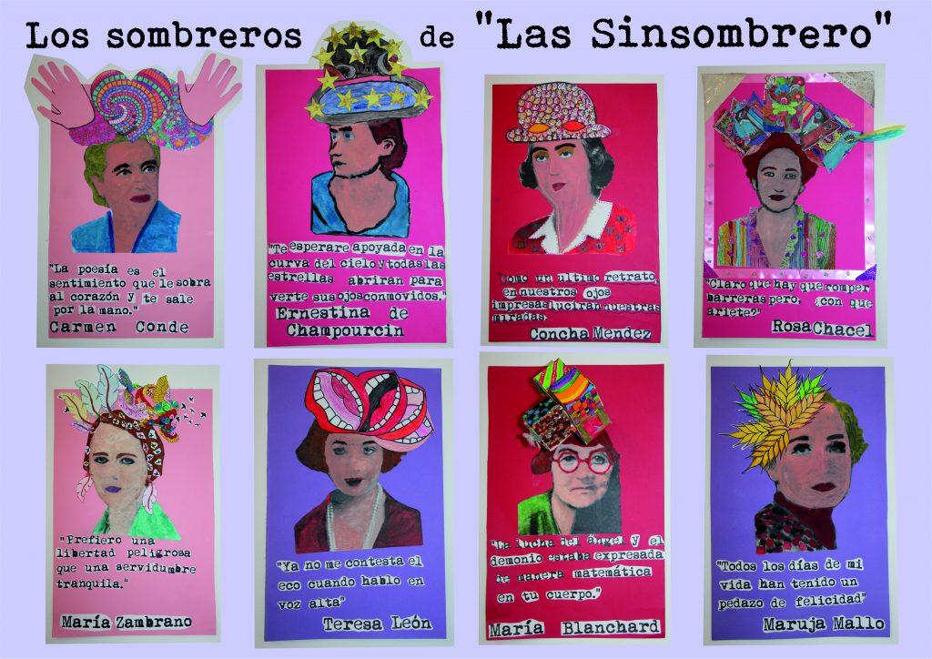 Los sombreros de las Sinsombrero