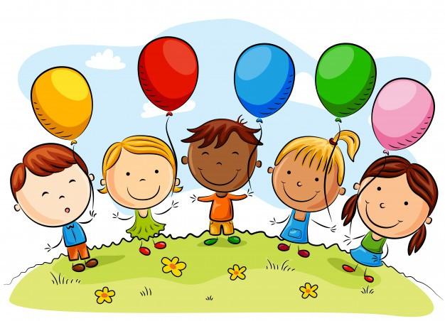 dibujos-animados-ninos-felices-globos-dia-verano_42886-917