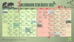 CALENDARIO ECOLÓGICO 2021