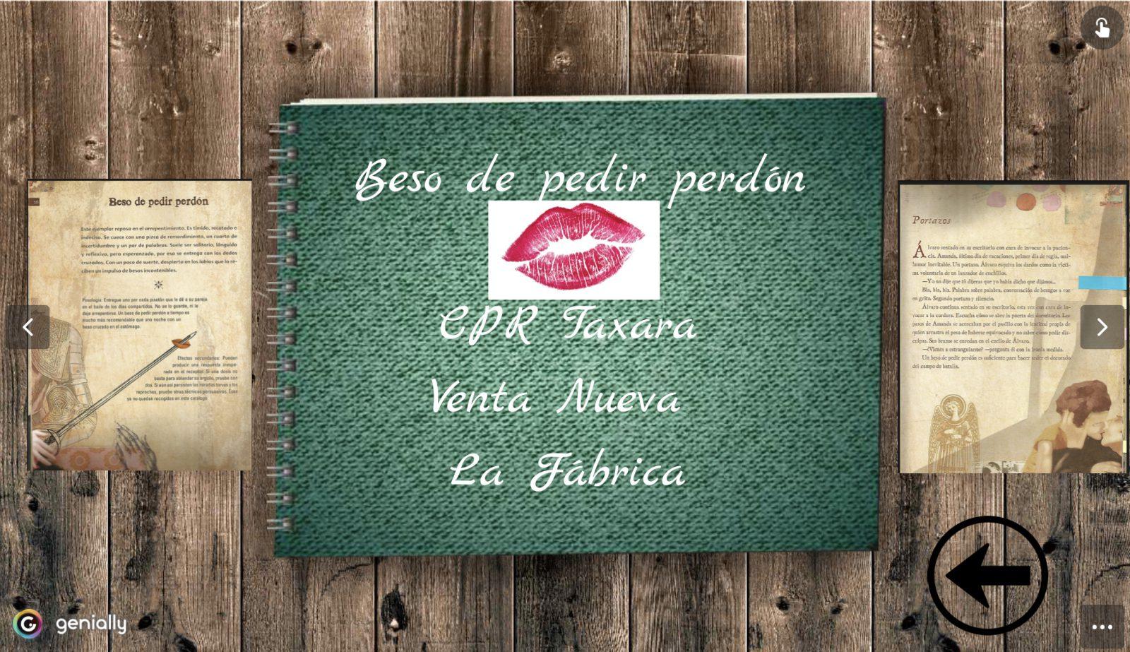 Catálogo de Besos