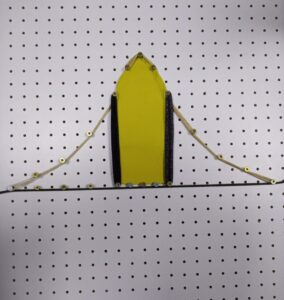 Campana De Gauss representada a través del geoplano
