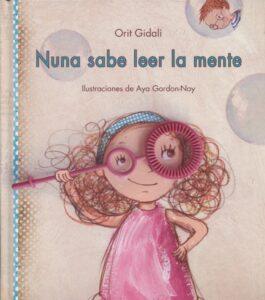 """Portada libro """"Nuna sabe leer la mente"""","""