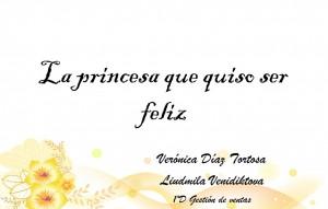 Portada cuento Princesa