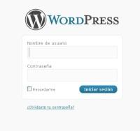imagen de inicio de sesion en wordpress