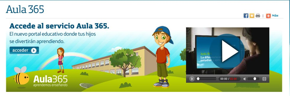 Movistar lanza Aula365