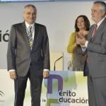 Acto de entrega de los Premios al Mérito en la Educación