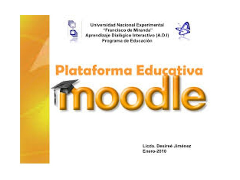 foto portada de la plataforma educativa moodle