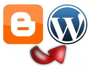 imagen del paso de blogger a wordpress