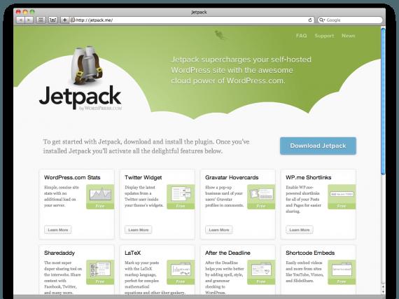 imagen de la portada del plugin jetpack
