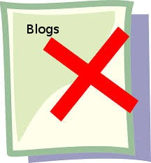imagen del texto eliminar un blog