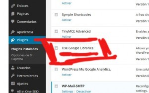 imagen del plugin use google libraries