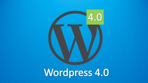 imagen del logo de wordpress 4.0