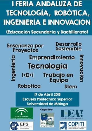 imagen de la portada de la primera feria andaluza de tecnologia