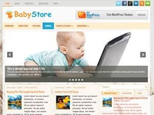 imagen de la plantilla BabyStore