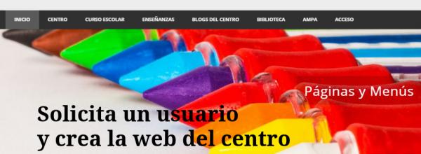 La web del centro