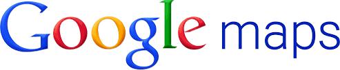 imagen de las letras en colores de google maps