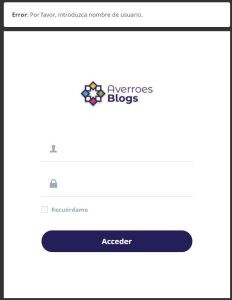 BlogAverroes Acceso