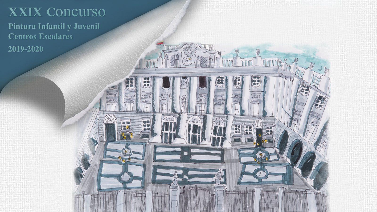 Resultado de imagen de XXIX Concurso Patrimonio Nacional de Pintura Infantil y Juvenil para Centros Escolares 2019-2020