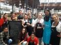 Cocina saludable en el mercado central