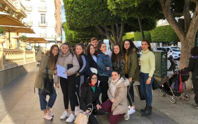 Visita al CADE y a la Cámara de Comercio de Almería